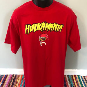 Hulkamania Hulk Hogan Shirt World Wrestling WWF
